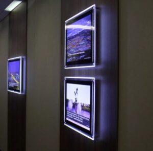 тонкие световые панели заказать в Москве